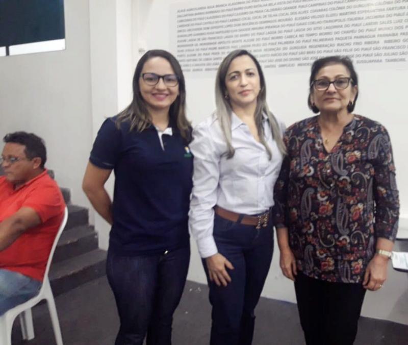 Olho D'água participa de oficina do gestor saúde em Teresina