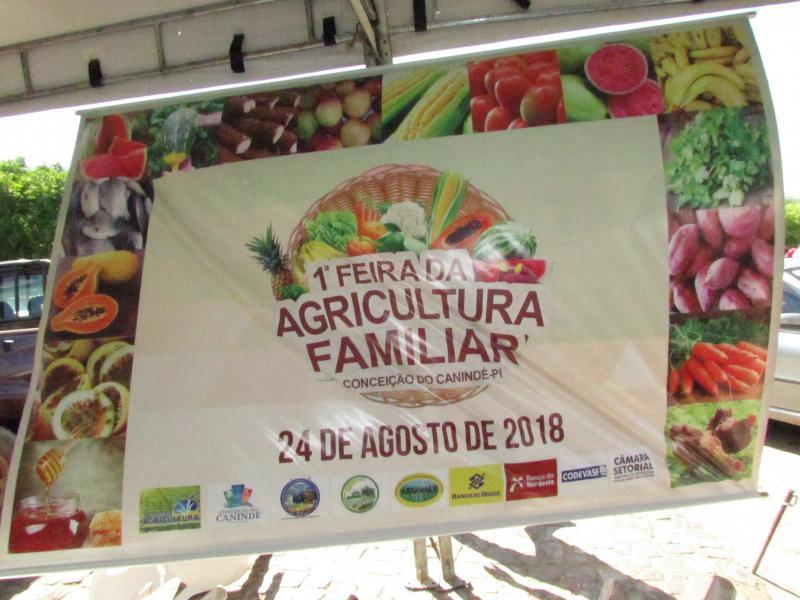 1ª Feira da Agricultura Familiar valorizando o Agricultor Familiar Conceiçãonense