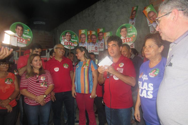 Lideranças políticas participam do lançamento da campanha do deputado Limma no território dos Cocais