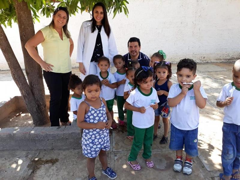 Demerval Lobão | Programa Saúde na Escola realiza ações de prevenção