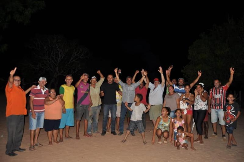 Comunidade Boi Manso I é beneficiada pelo projeto Água Corrente
