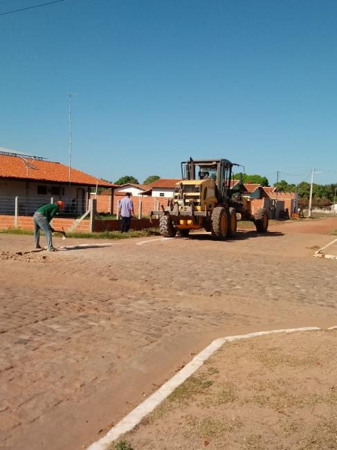 Prefeitura realiza obras de ampliação na rede de abastecimento de água