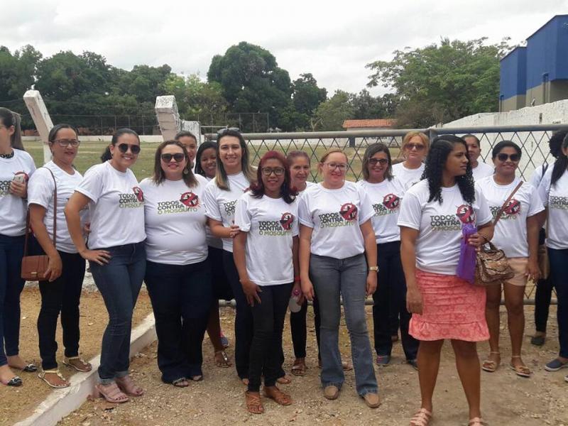 Secretaria de Saúde realiza ação de combate ao mosquito Aedes Aegypti
