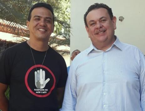 Agentes comunitários lançam Genaldo para estadual e apoiam Silas a federal