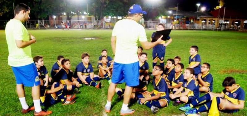 Boca Juniors em Teresina está comemorando a execução do Primeiro Campeonato
