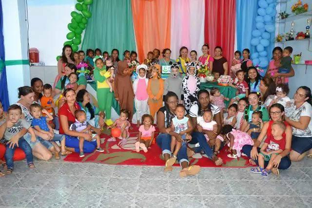 Assistência Social de São José do Piauí promoveu uma festa para as crianças