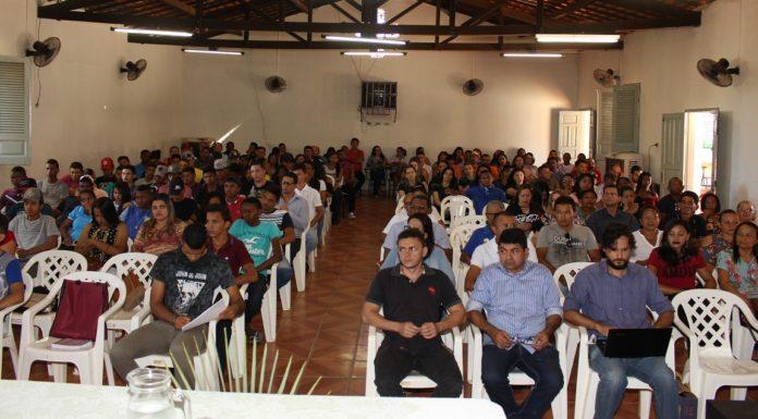 I Seminário do território Vale do Canindé está acontecendo em Oeiras
