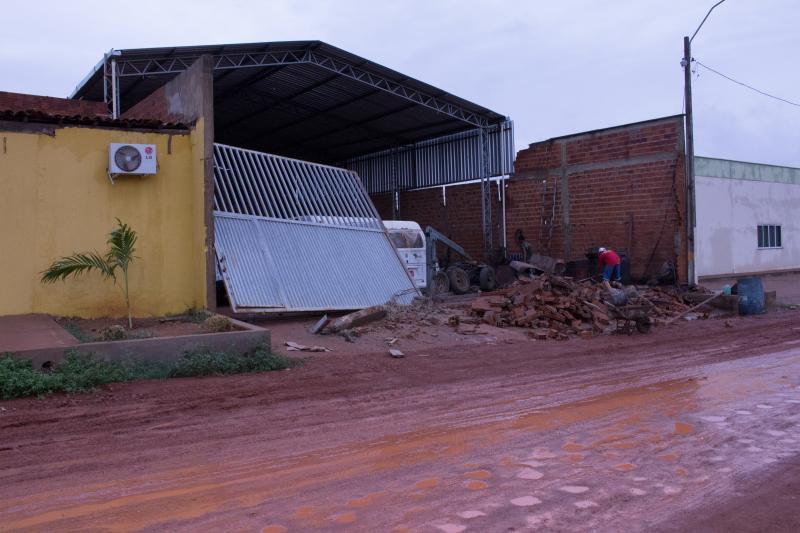 Chuva chega à cidade de Uruçuí trazendo esperança para os moradores