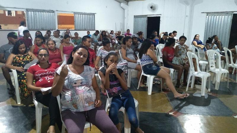 Prefeitura reúne 60 gestantes em encontro sobre o 'Agosto Dourado'