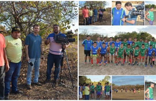 Equipe da TV Clube registra treino e entrevista atletas do 29 de Abril