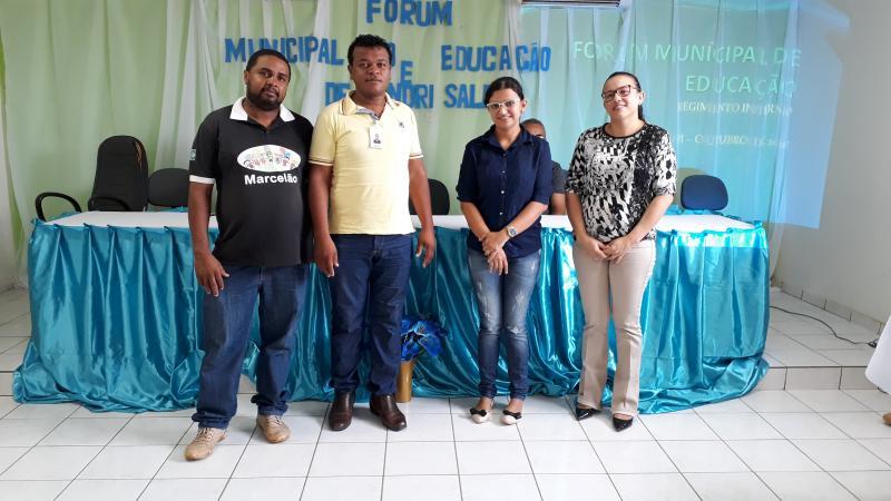 Formação do fórum municipal de educação