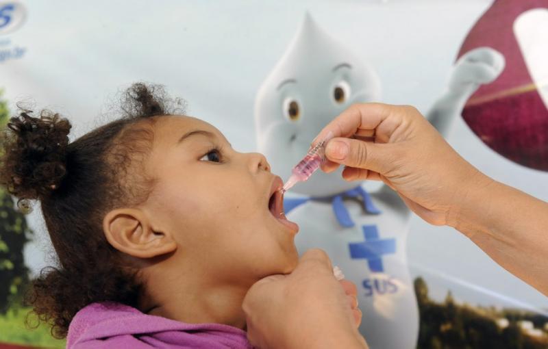 Prazo de vacinação contra Polio e Sarampo termina hoje
