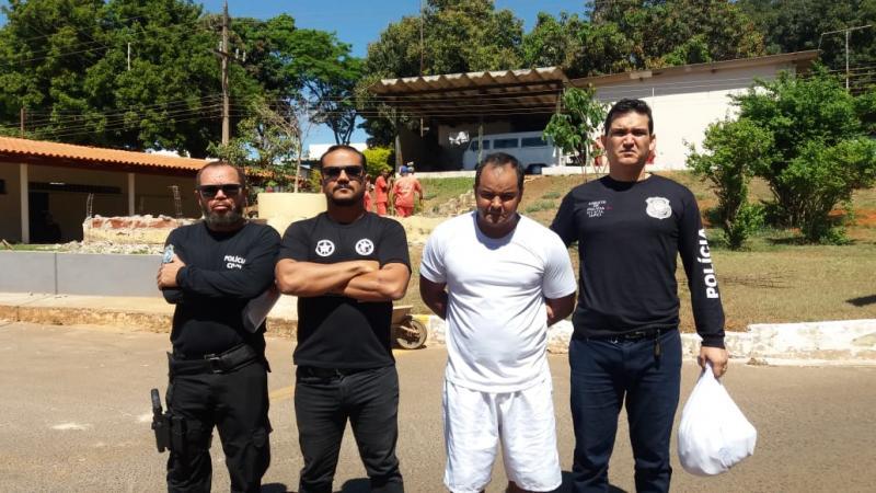 Acusado de matar e enterrar mulher no Piauí é preso em Brasília