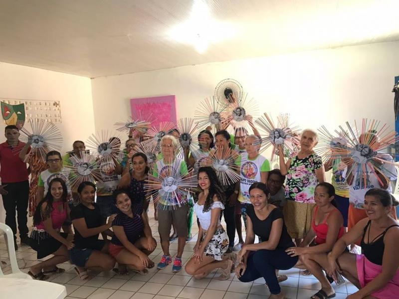 Secretaria desenvolve atividade para idosos em Francisco Ayres