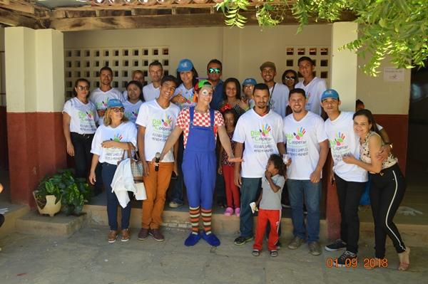 Escola Evangélica Gamaliel promove dia de Cooperar em Colônia do Gurgueia