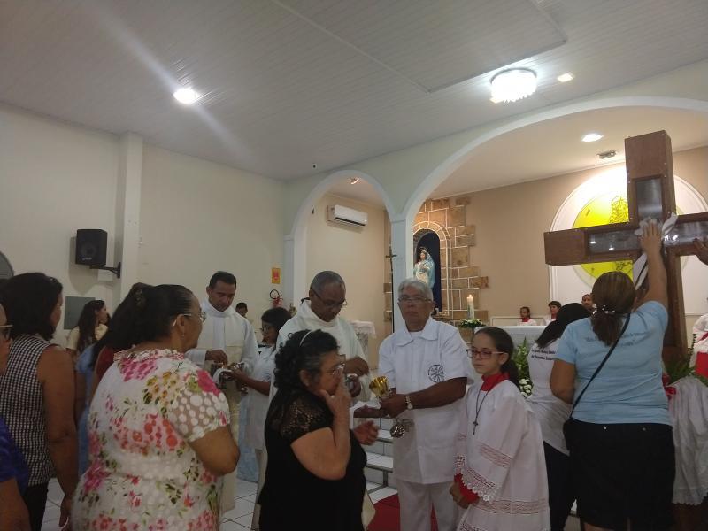 Demerval Lobão   Encerramento da peregrinação de Santa Cruz dos Milagres