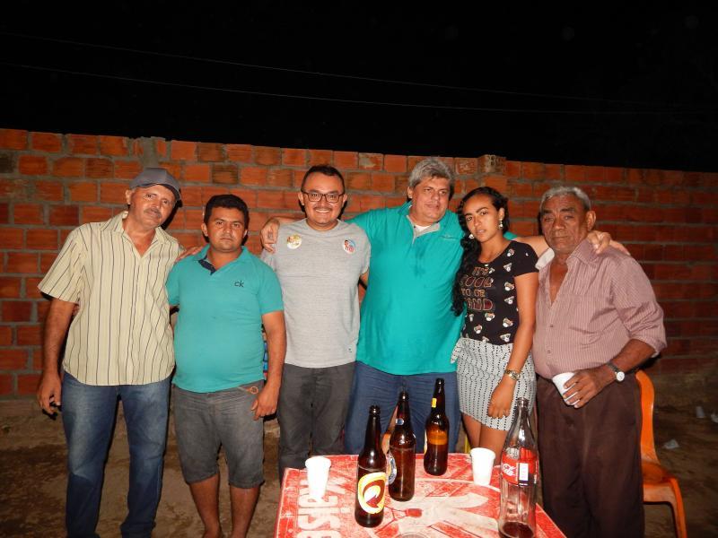 Prefeito Participa de evento na zona rural do município