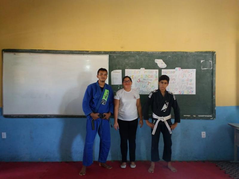 Alunos do Programa Mirim Cidadão tem aulas de TaiJutsu