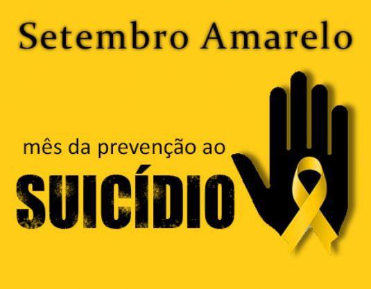 Secretaria Municipal de Saúde alerta pro Setembro Amarelo