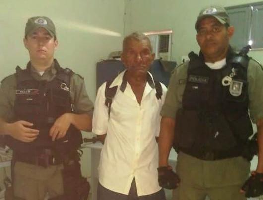 Homem é preso após balear outro em Cajazeiras do Piauí