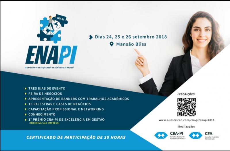 Neste mês de setembro acontece o 14º ENAPI em Teresina