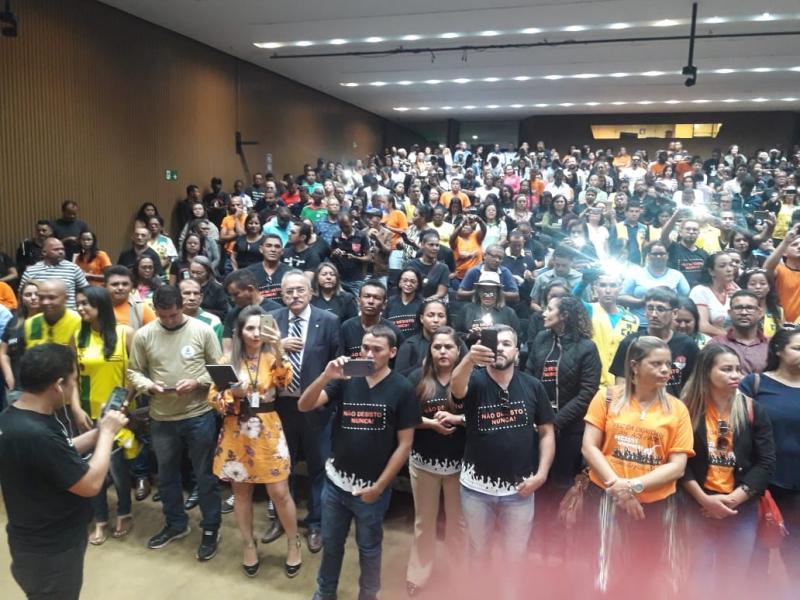 Nereu Ramos lotado de Acs e ace, aguardando  a derrubada dos vetos a MP 827