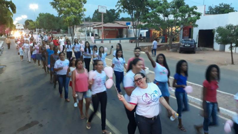 Secretaria realiza encerramento das ações do Outubro Rosa em Manoel Emídio