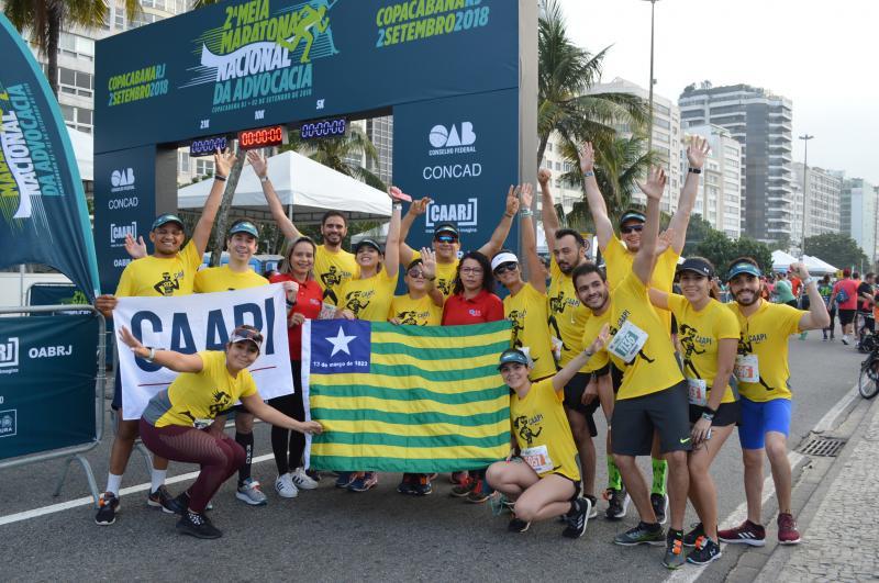 Piauienses são destaque na 2° Meia Maratona Nacional da Advocacia