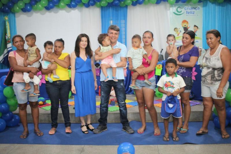 Lançamento do Programa Criança Feliz em Monsenhor Gil