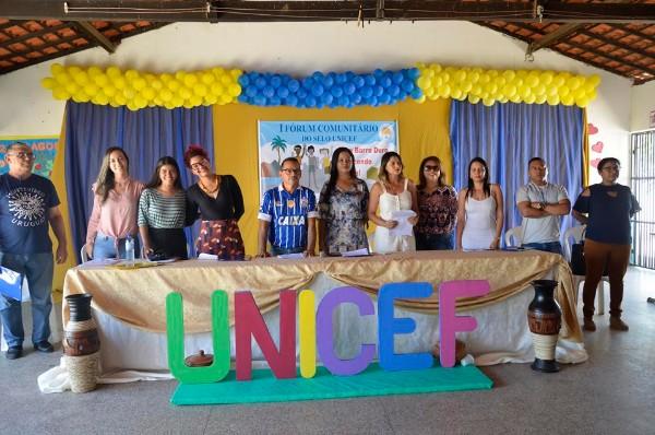 I Fórum Comunitário do Selo UNICEF foi realizado em Barro Duro