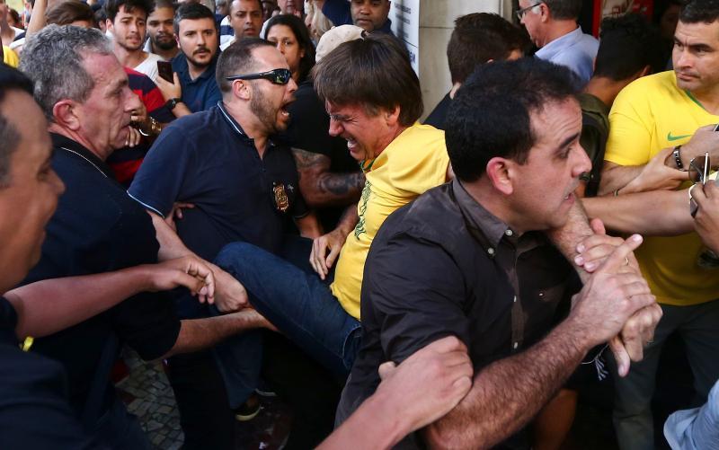 Suspeito de esfaquear Bolsonaro é identificado e preso