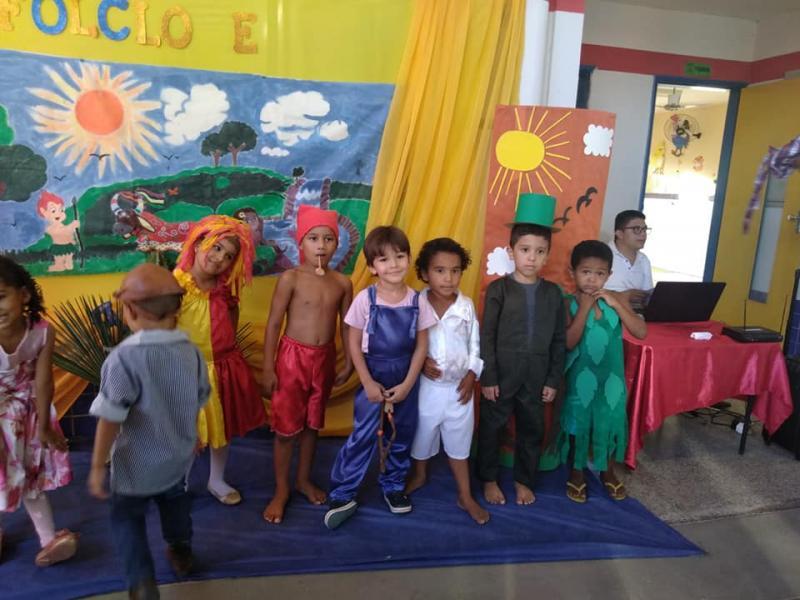 Creche Proinfância de Prata do Piauí realiza Festival de Cultura Folclórica