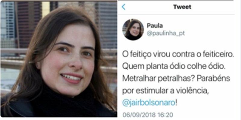 Assessora de Dilma ironiza Bolsonaro e perde o emprego