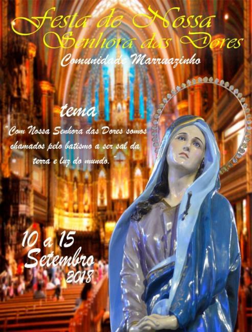 Festejos da comunidade Marruazinho terão início no próximo dia 10