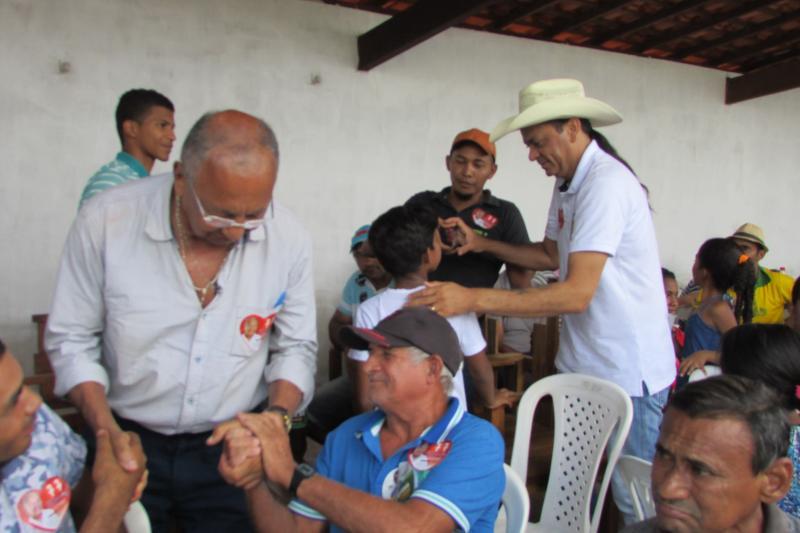Herbet Torres recebe dr. Pessoa e Frank Aguiar em São João da Serra