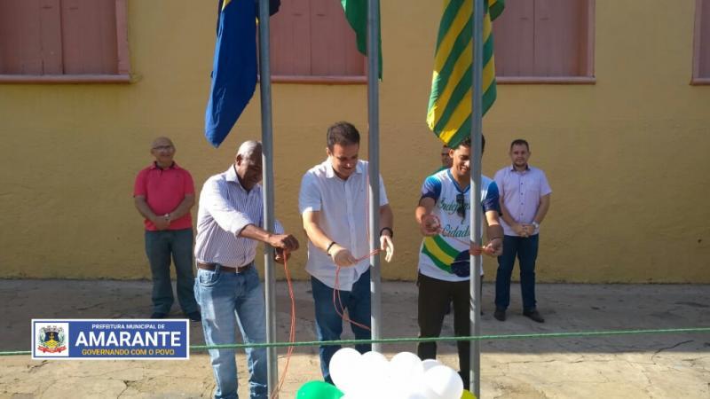 Prefeitura Municipal de Amarante realiza Desfile Cívico de 7 de Setembro