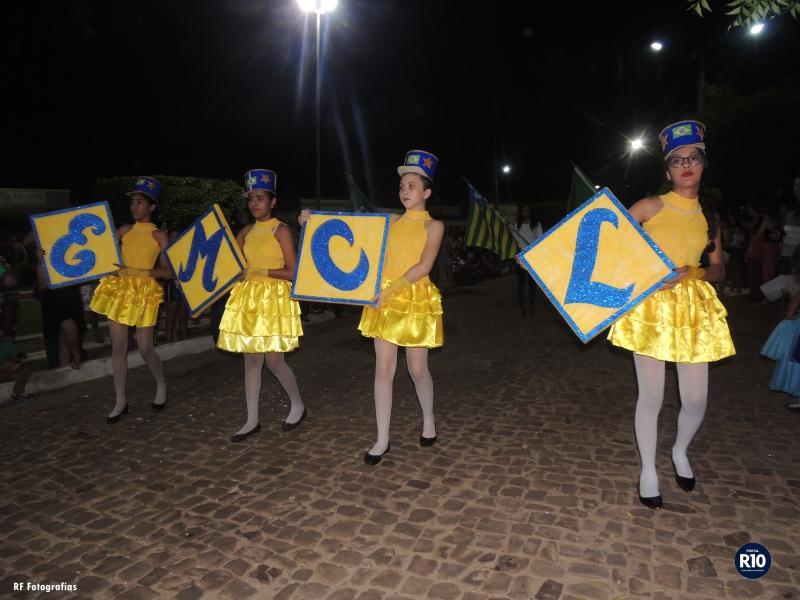 EMCL  Fecha com chave de ouro o feriado da Independência do Brasil
