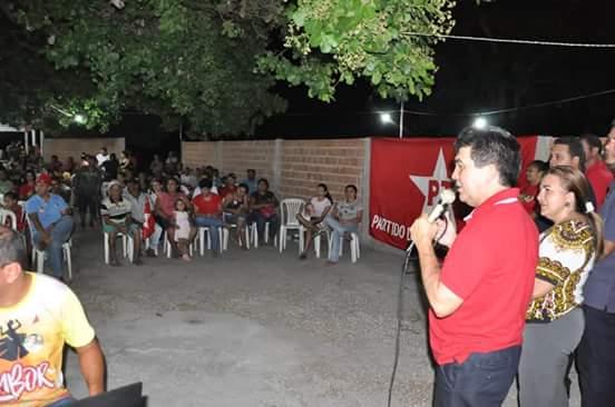 Deputado Limma visitou a comunidade Chapada da Sindá