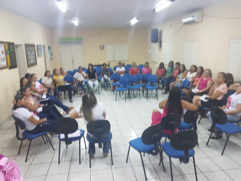 Conceição do Canindé Comemorou a Semana Outubro Rosa Novembro Azul