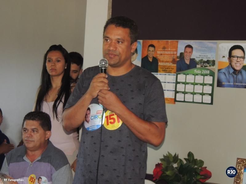 Pref. Rômulo Aécio faz chamamento de apoio político a seus amigos e aliados
