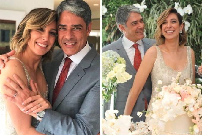 """""""Detalhe"""" no casamento de William Bonner chamou atenção na internet"""