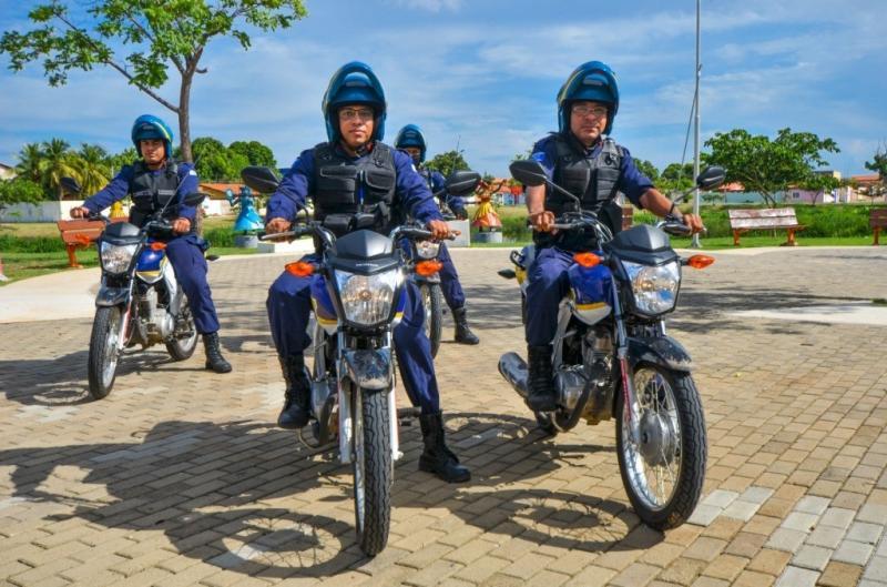 Guarda Municipal recupera motos e apreende arma em Teresina