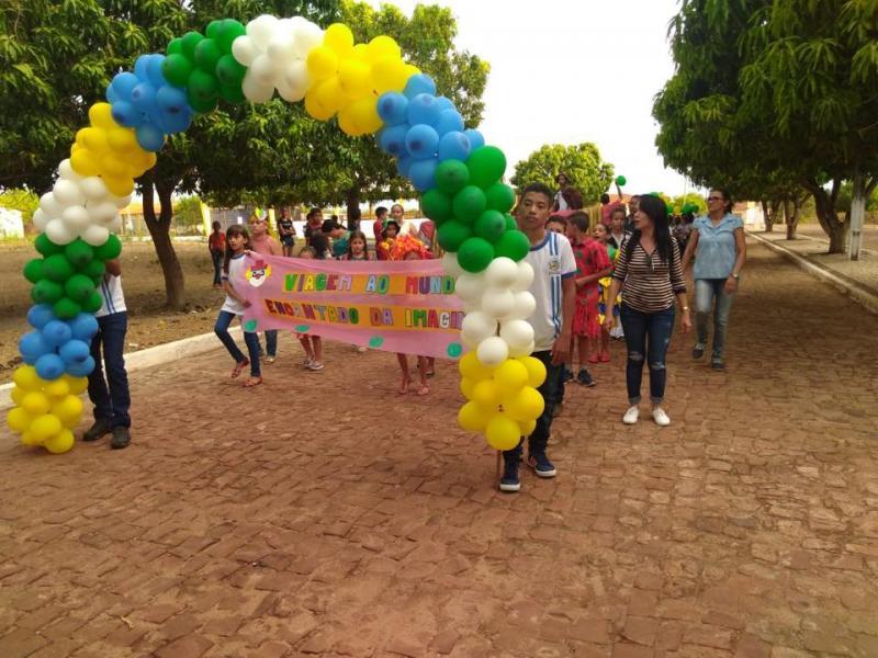 Prefeitura de Pau D'Arco realizou desfile do 7 de Setembro