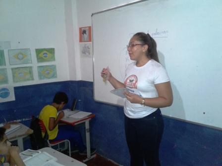 Secretaria de Saúde trabalha nos colégios no combate ao AEDES AEGYPTIS