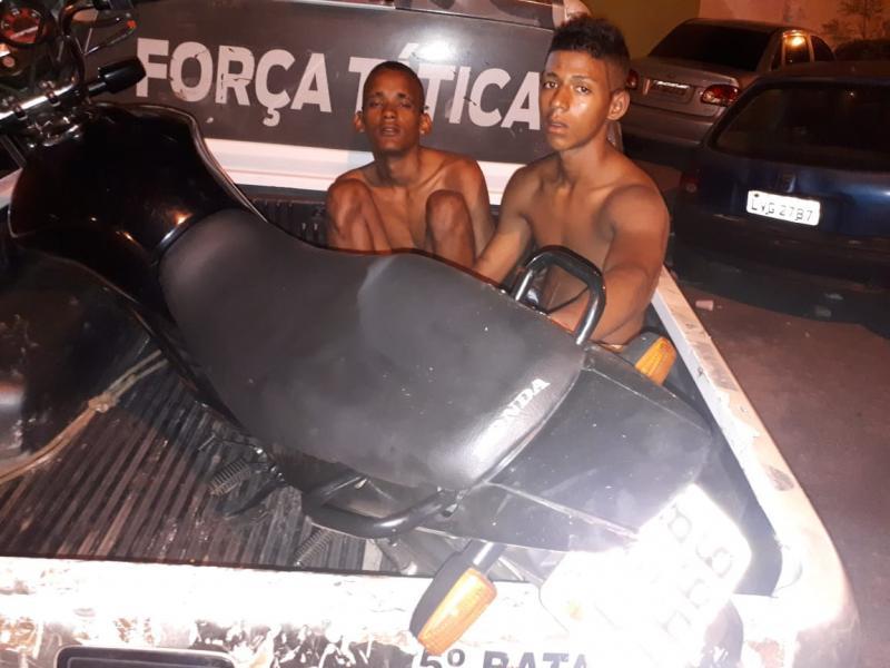 5° BPM prende assaltantes e recupera motos roubadas em Teresina