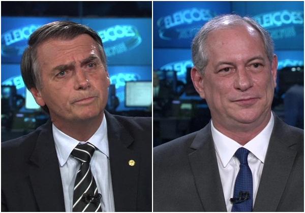 Pesquisa Ibope: Bolsonaro tem 26% e Ciro 11%