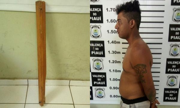 Homem é preso após tentar matar companheira a pauladas no Piauí