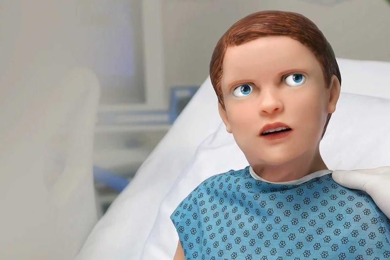 Vídeo mostra robô com características humanas criado para treinar médicos