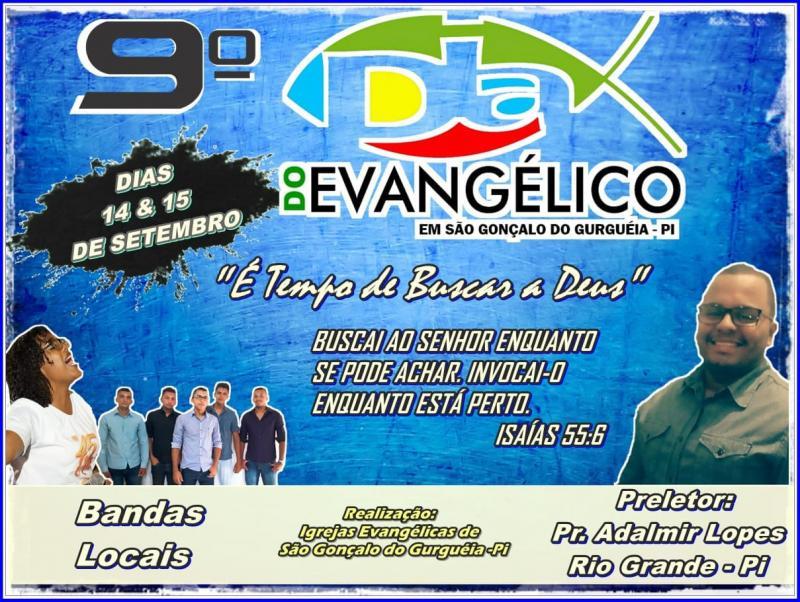 IX Edição do dia dos evangélicos em São Gonçalo do Gurguéia