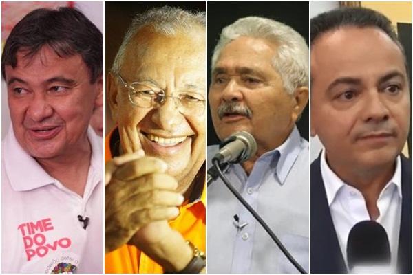 Confira agenda dos candidatos ao Governo do Estado nesta quinta-feira